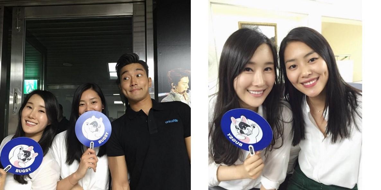7.Super Junior始源 始源的妹妹崔智源前陣子在instagram上傳了幾張照片,劉雯也一起合照!!!三個人有種越看越像的感覺XD