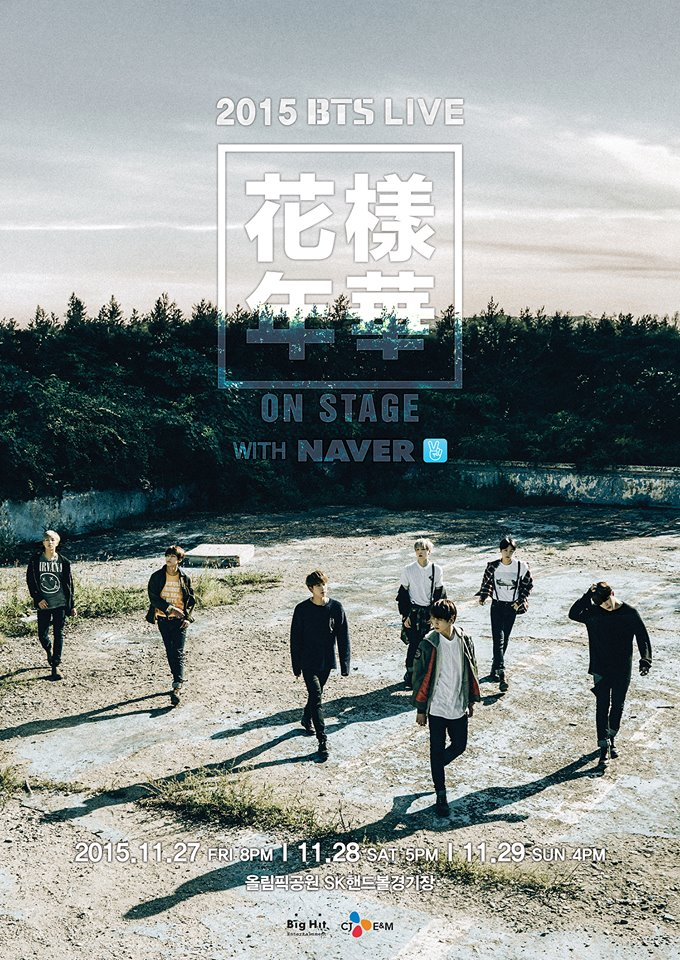 沒錯沒錯,就是 11 月 27 日~29日喔!他們將在首爾舉辦〈2015 BTS LIVE〉為期三天的演唱會。