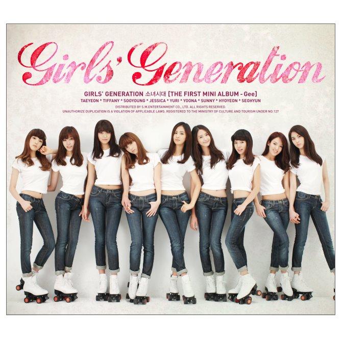 少女時代 - Gee 2009/01/06~2009/03/13 連續9周第一
