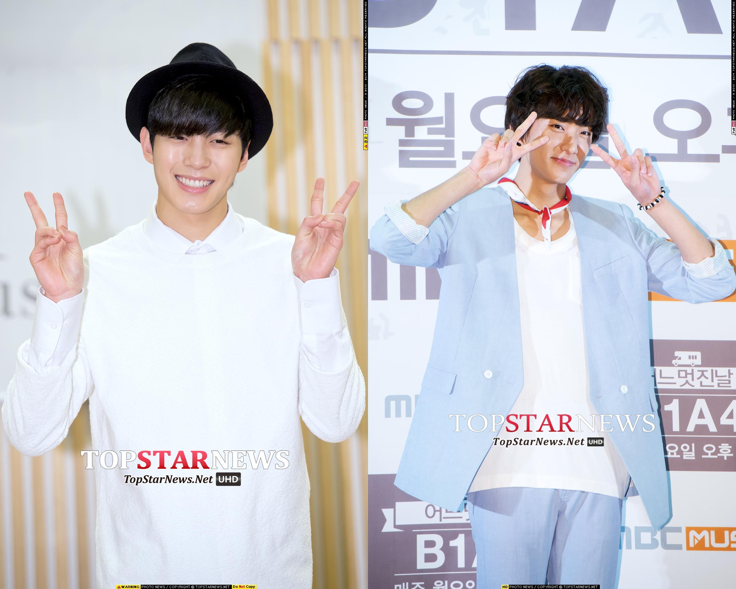 ★ VIXX 弘彬 & B1A4 孔燦 ★  這次也是 93 Line 的弘彬和孔燦,他們兩個[人的好交情根本就是 CP 等級了!