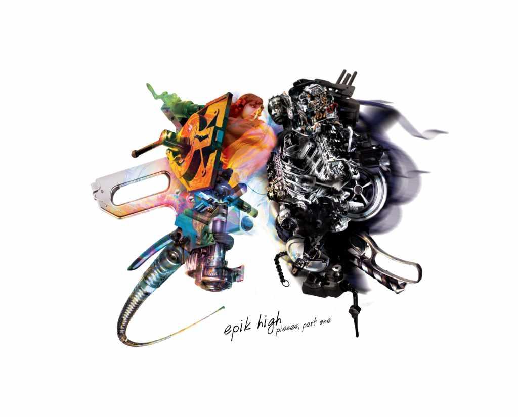 4. EPIK HIGH 第五張正規專輯《Pieces, part one》(2008)