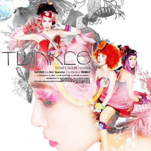 5. 少女時代 太蒂徐 第一張迷你專輯《Twinkle》 (2012)