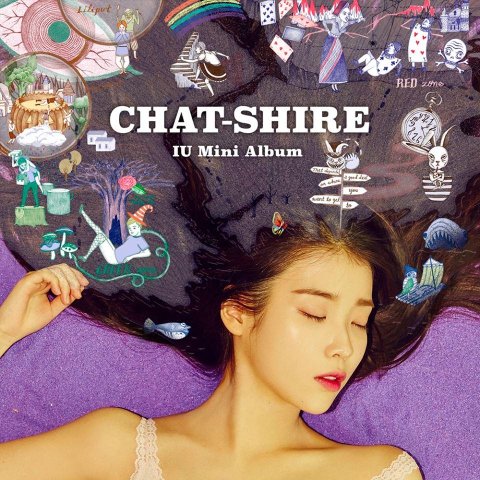 6. IU 第九張迷你專輯《CHAT-SHIRE》(2015)