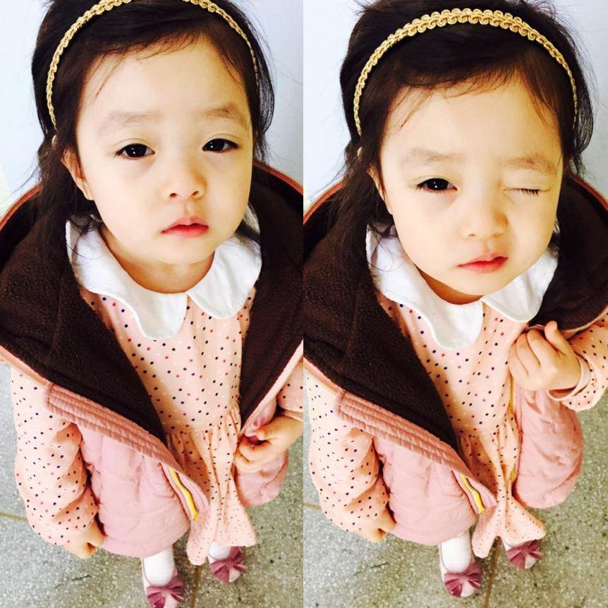 她就算沒有劉海也非常的美麗動人...☆