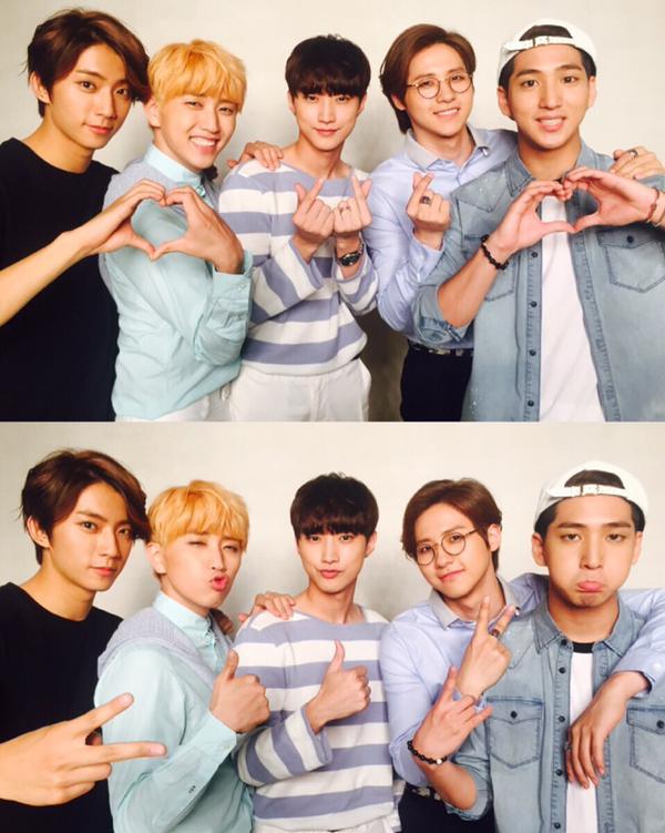 說到眼鏡怎麼能忘記 B1A4 的「CNU(신우)」。