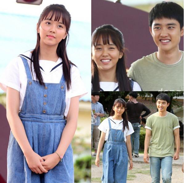 最近正在跟 EXO D.O. 一起拍攝電影的她,大家是不是跟小編一樣期待兩位演技派演員擦出的火花呢?