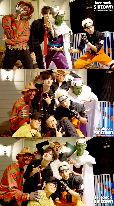 但還是有人很認真的裝扮了!大家知道是哪個偶像團體嗎?