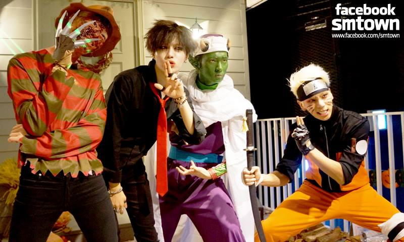 2013 年精心打扮的 SHINee,2014 年扮成什麼了呢?