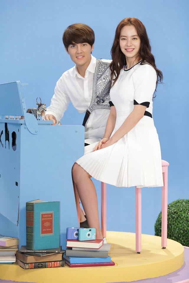 去年曾經和吳克羣合作過中國電影《708090之深圳戀歌》