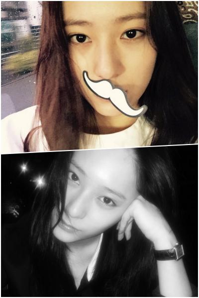 冰山美人Krystal不用多說了,在SNS上雖然看到的都是她充滿個性的自拍照…