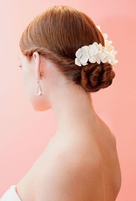 這種髮型應該一生中只有在婚禮的時候才能做一次吧