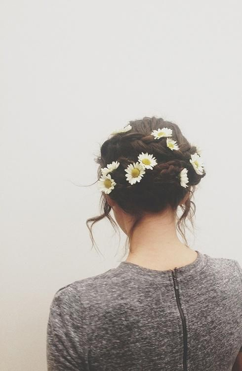像這樣一個個插上小花也很有特色,好美呀~
