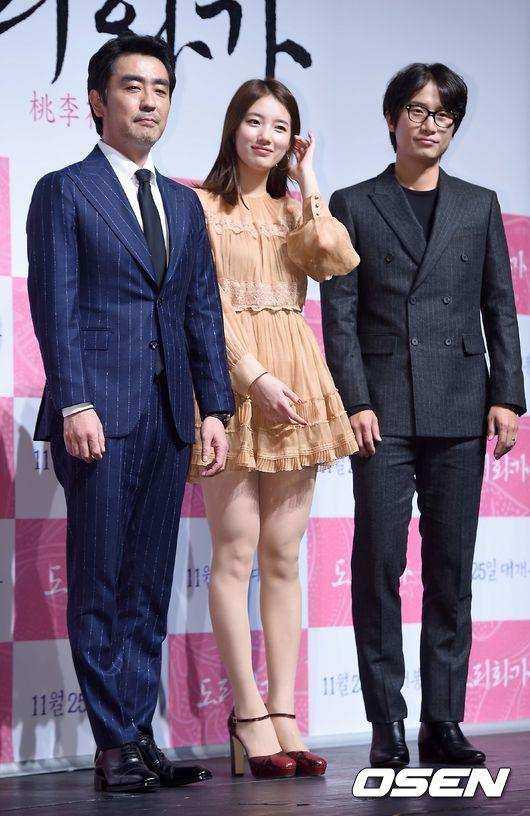 最後雖然由柳承龍和宋清晨代為受訪 但仍有不少韓國網友看到影片直呼身為主演 都無法清楚介紹電影實在太誇張!