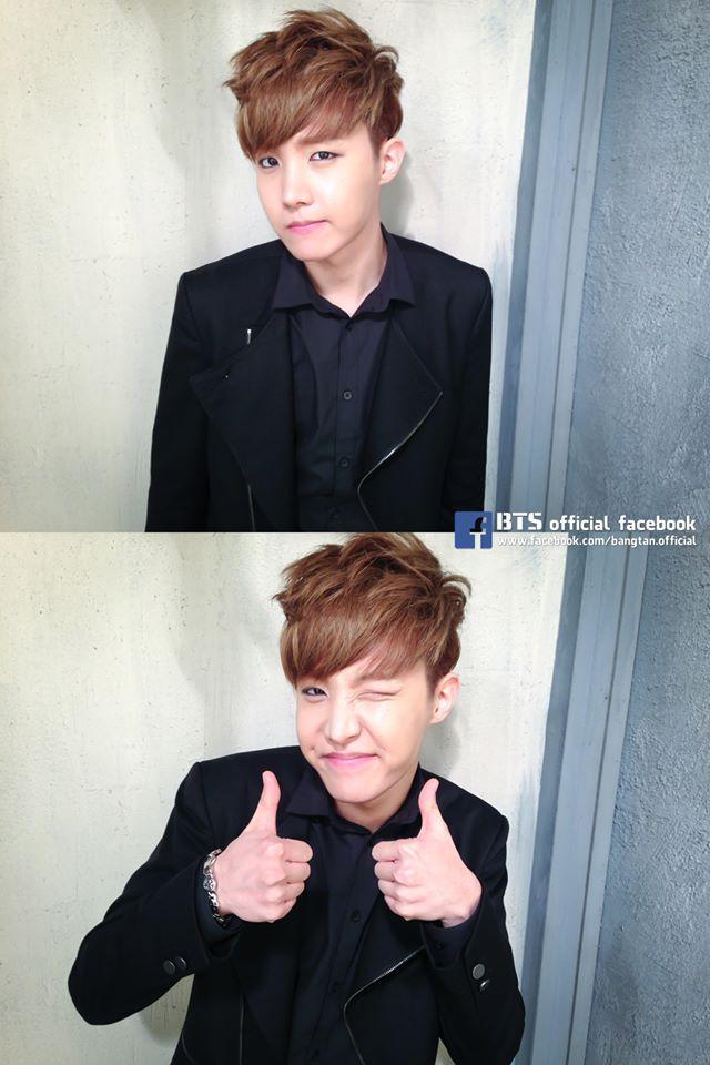 第四位就是 BTS 的領舞 j-hope ♥