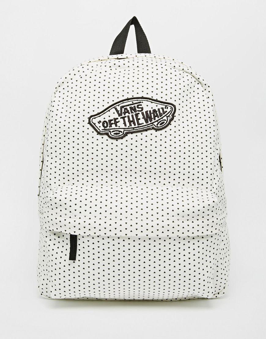 另外VANS推出的基本款後背包,也是點點控的心頭好!