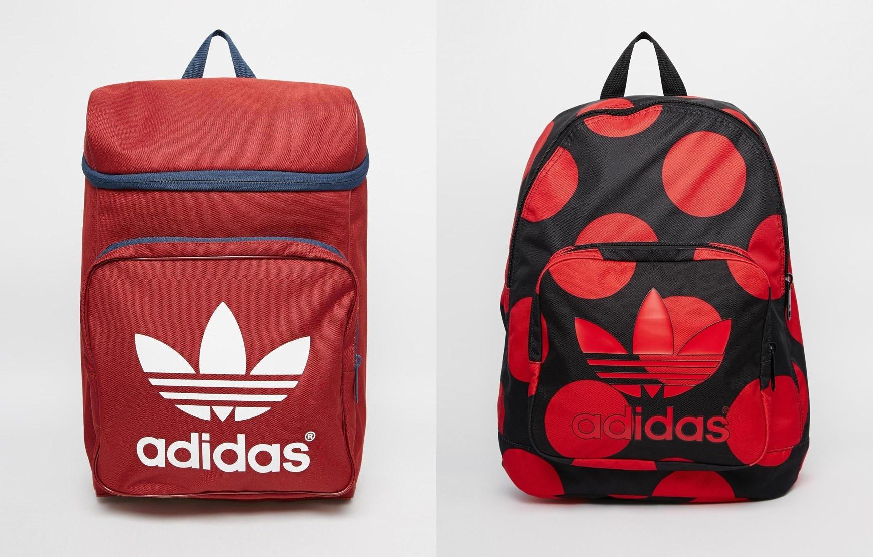 Adidas 在今年秋冬也推出數款紅色的背包,受到運動女孩的矚目!