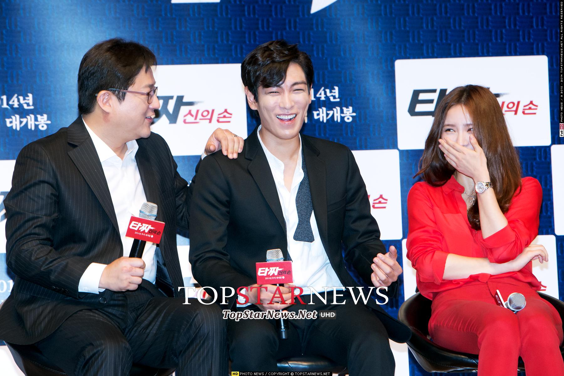 而且撇除掉BIGBANG演唱會遠遠的距離感,這次記者會看點還包含,你可能可以看到這樣笑開懷的他(完全大笑)