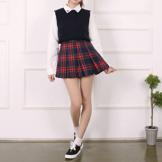 當然啦~還可以像Red Velvet的Joy一樣搭上網球裙