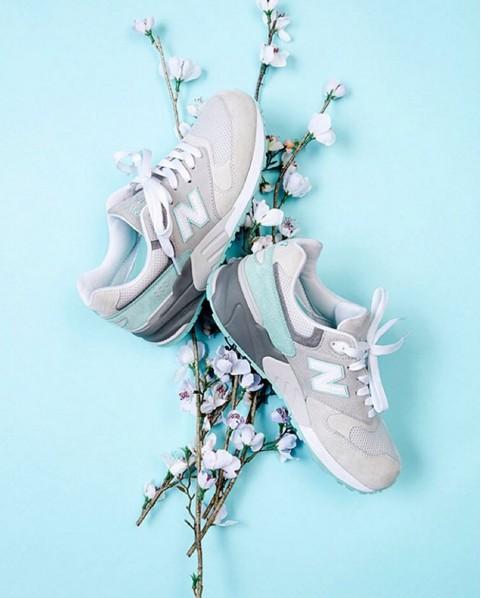 去年推出後立即掀起搶購旋風的999櫻花限定版復古鞋,最近又出現了讓人(我)心動的特殊新款!