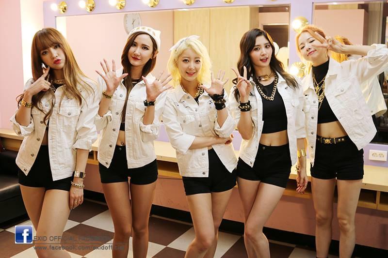 第二組預計要回歸的女團就是「EXID」。