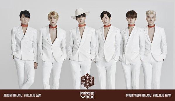 第三組即將要回歸的男團是「VIXX」。