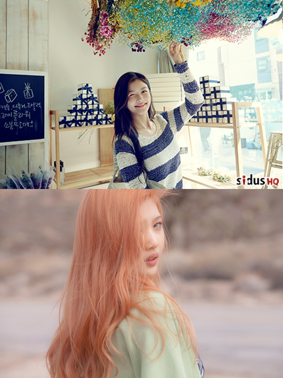 JOY 出道後,很多網友都覺得她跟金裕貞長得很像!