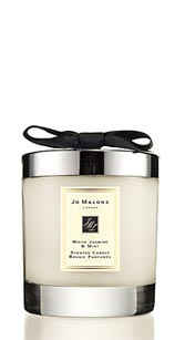 JO MALONE白茉莉與薄荷香氛工藝蠟燭 淡花香混合薄荷 味道十分清爽喔!