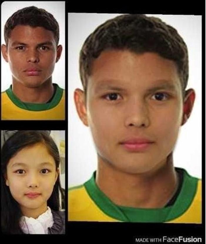 最後一位就是足球員 Thiago Silva,金裕貞小時候玩遊戲的 ID 還有取過「Thiago 裕貞」,可見本人也覺得自己跟對方很像XD