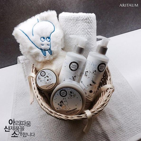 ARITAUM旗下品牌HAPPY BATH也推出Moomins聯名商品