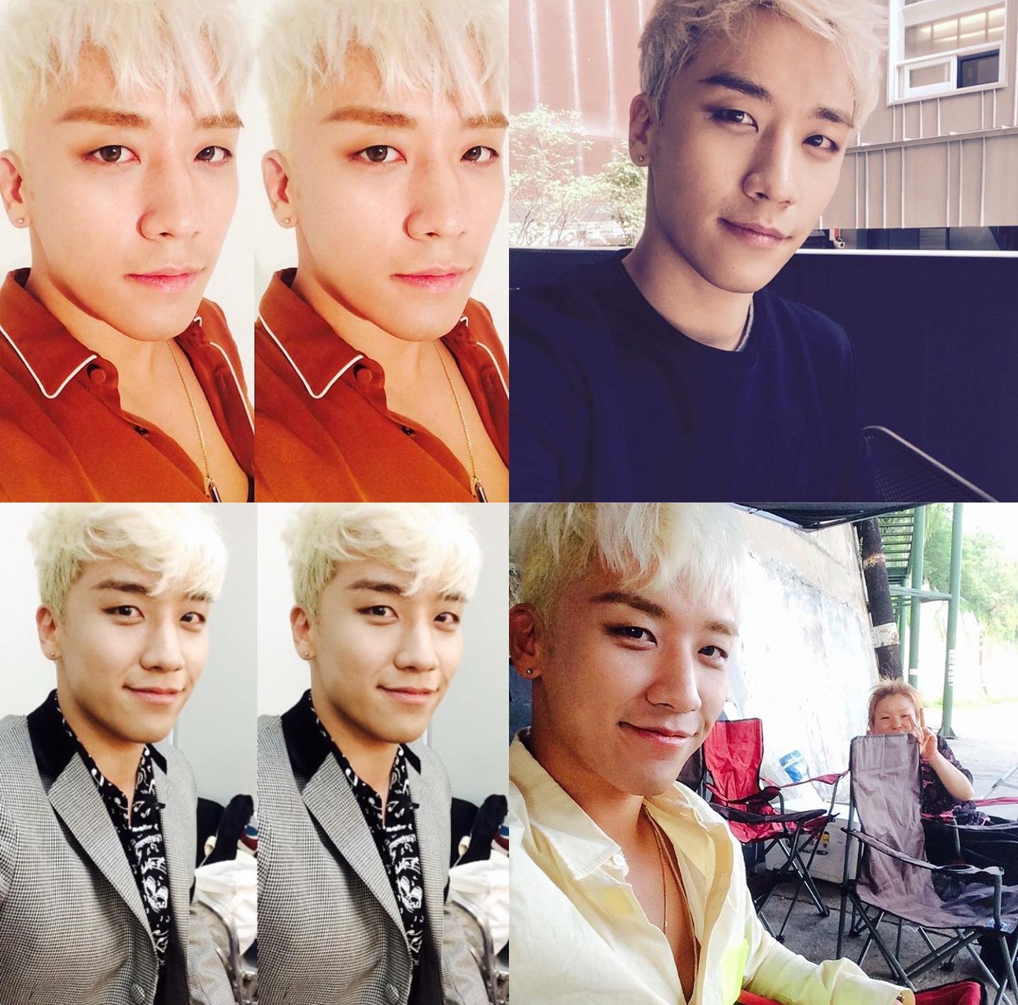 ★ BIGBANG :: 勝利 ★   韓國網友覺得勝利很會抓角度,不管是自拍還是跟別人合照,都拍得很好!