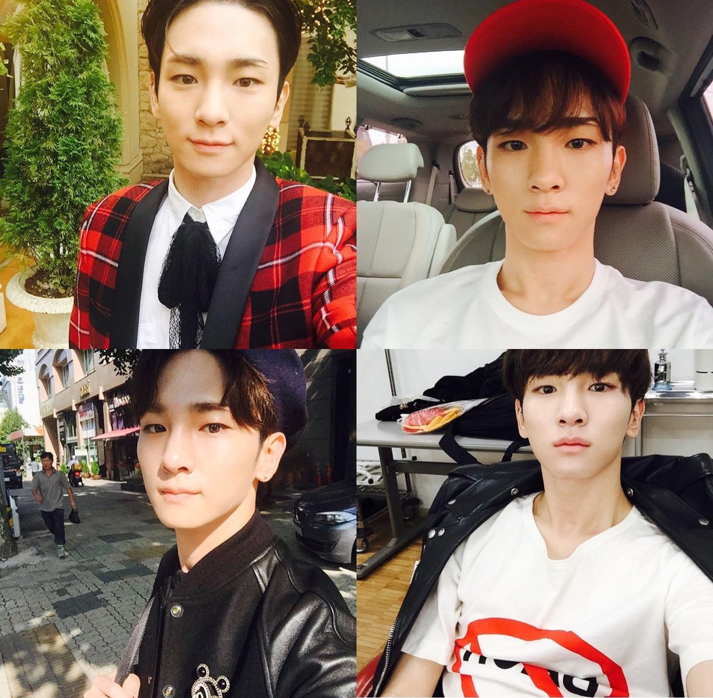 ★ SHINee :: KEY ★  KEY 不僅很有時尚品味,就連拍照也很有自己的感覺,有人跟我一樣很喜歡看他拍穿搭照嗎?(舉手)