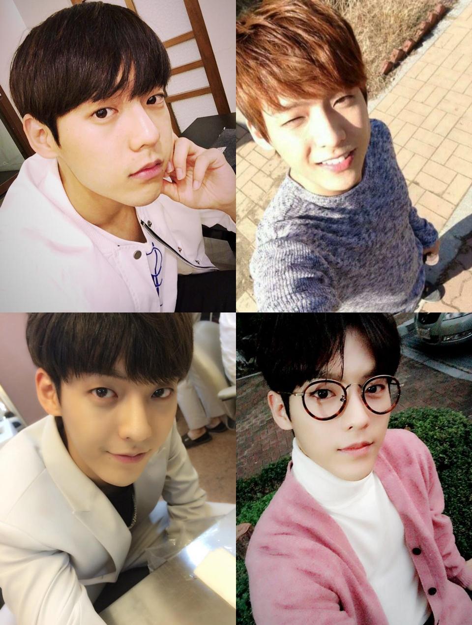★ BTOB :: 李旼赫 ★   又是一位男友即視感 ↑ 的男孩,沒錯!就是熱愛 45 度角的李旼赫,選對角度會讓你的顏值再直線上升啊~!