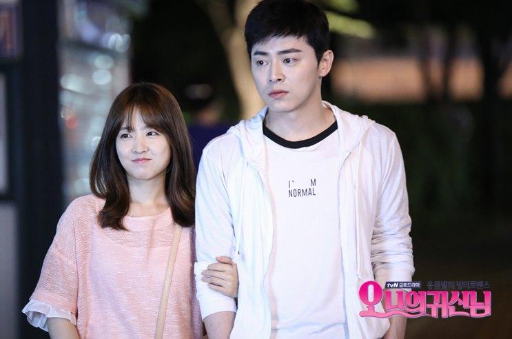 可愛的女主角朴寶英也唱了這部的OST〈離開(떠난다)》