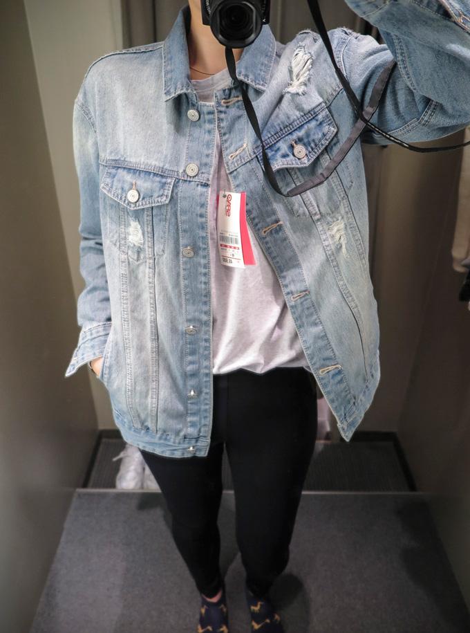 [S size]今年進駐台灣的連鎖服飾SPAO品牌  光基本款的牛仔外套就有3種版型以上可供選擇 想要不退流行的平價設計 或許SPAO就是你的好選擇!