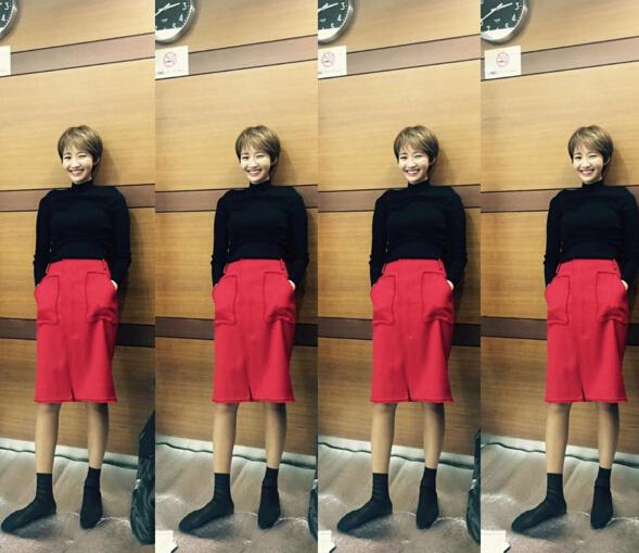 熱情的紅色包臀裙定會讓你這個秋冬更加引人關注~