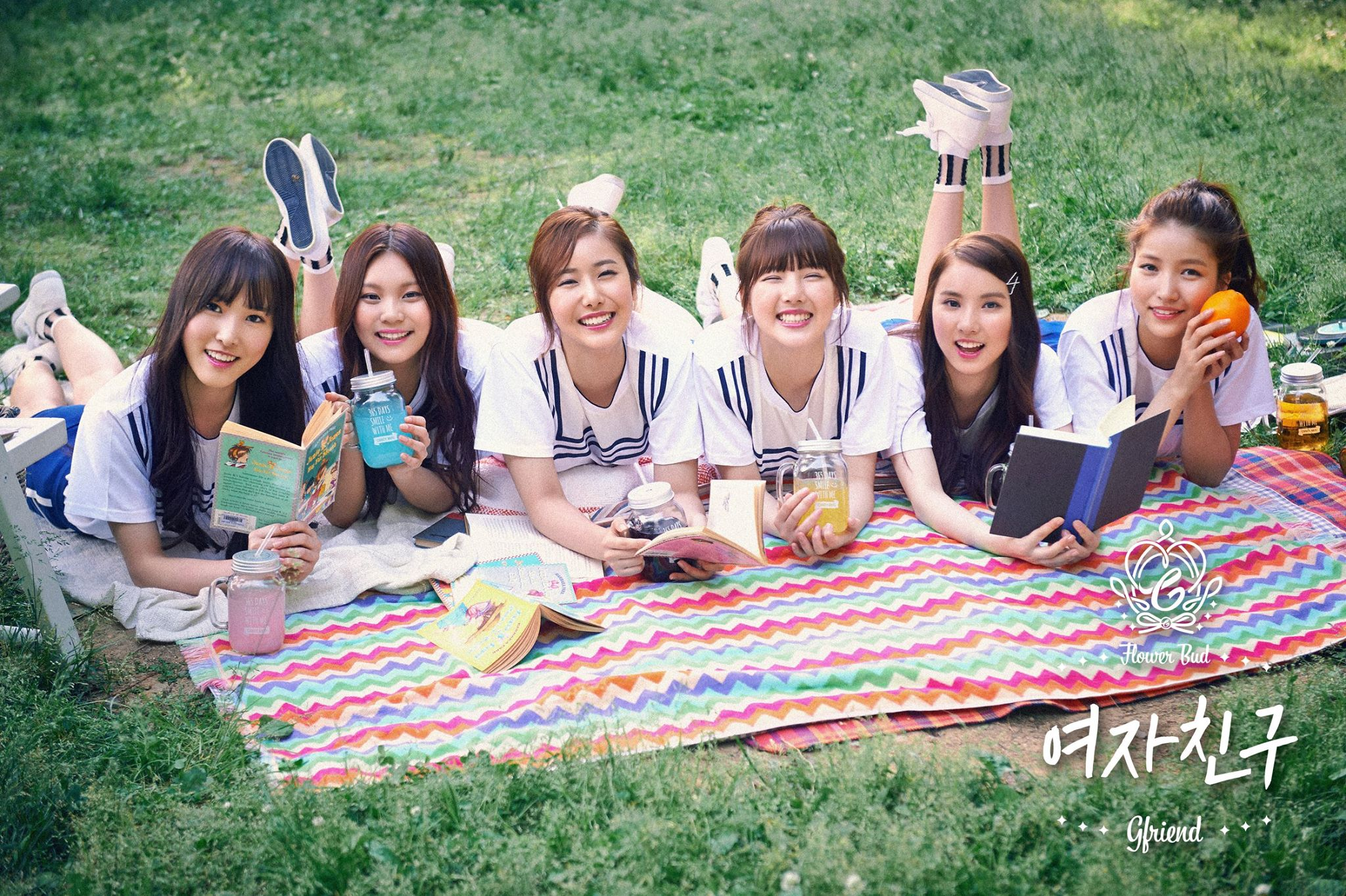TOP 10. GFRIEND(女朋友) 第2張迷你專輯《FLOWER BUD》(2015/07/23) 專輯銷量: 8,467張