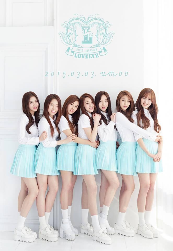 TOP 8. Lovelyz 首張正規Repackage專輯《Hi~》(2015/03/04) 專輯銷量: 10,509張