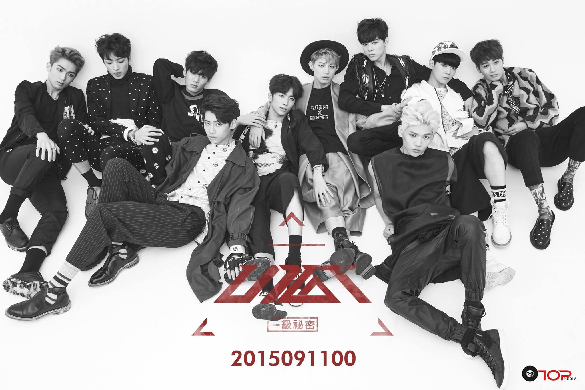 TOP 6. UP10TION 首張迷你專輯《一級秘密》(2015/09/11) 專輯銷量: 15,005張
