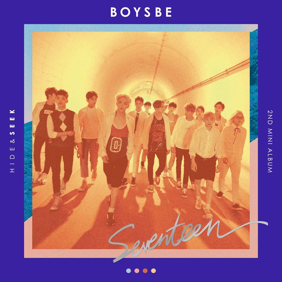 TOP 1. SEVENTEEN 第二張迷你專輯《BOYS BE》(2015/09/10) 專輯銷量: 81,987張