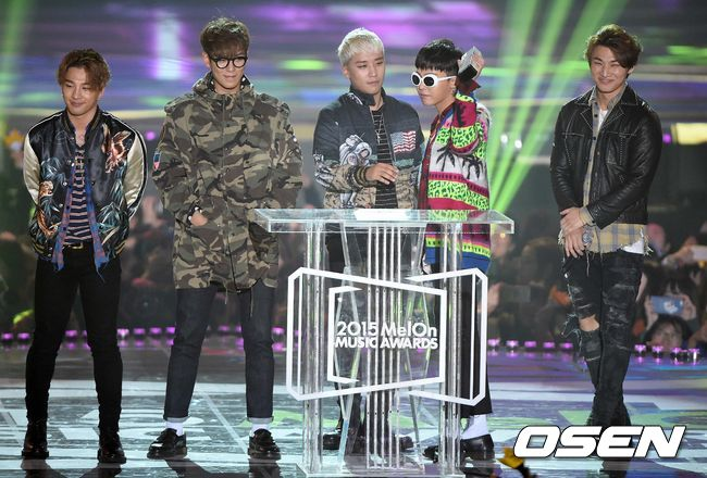 最大贏家便是BIGBANG!當晚奪下4獎居冠!