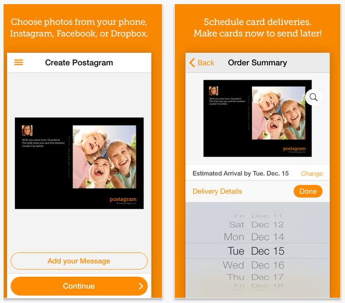 #10 Postgram 最後要介紹的是一款比較特別的App,可以將手機拍攝的照片上傳到這個App,留下一些話並設定時間後,就能寄送實體明信片給遠在另一端的親朋好友囉!雖然App是免費的,但是寄送還是會有一些小小的費用,但比起自己找郵局、購買常見的明信片,使用自己的照片不是更有氣氛嗎?