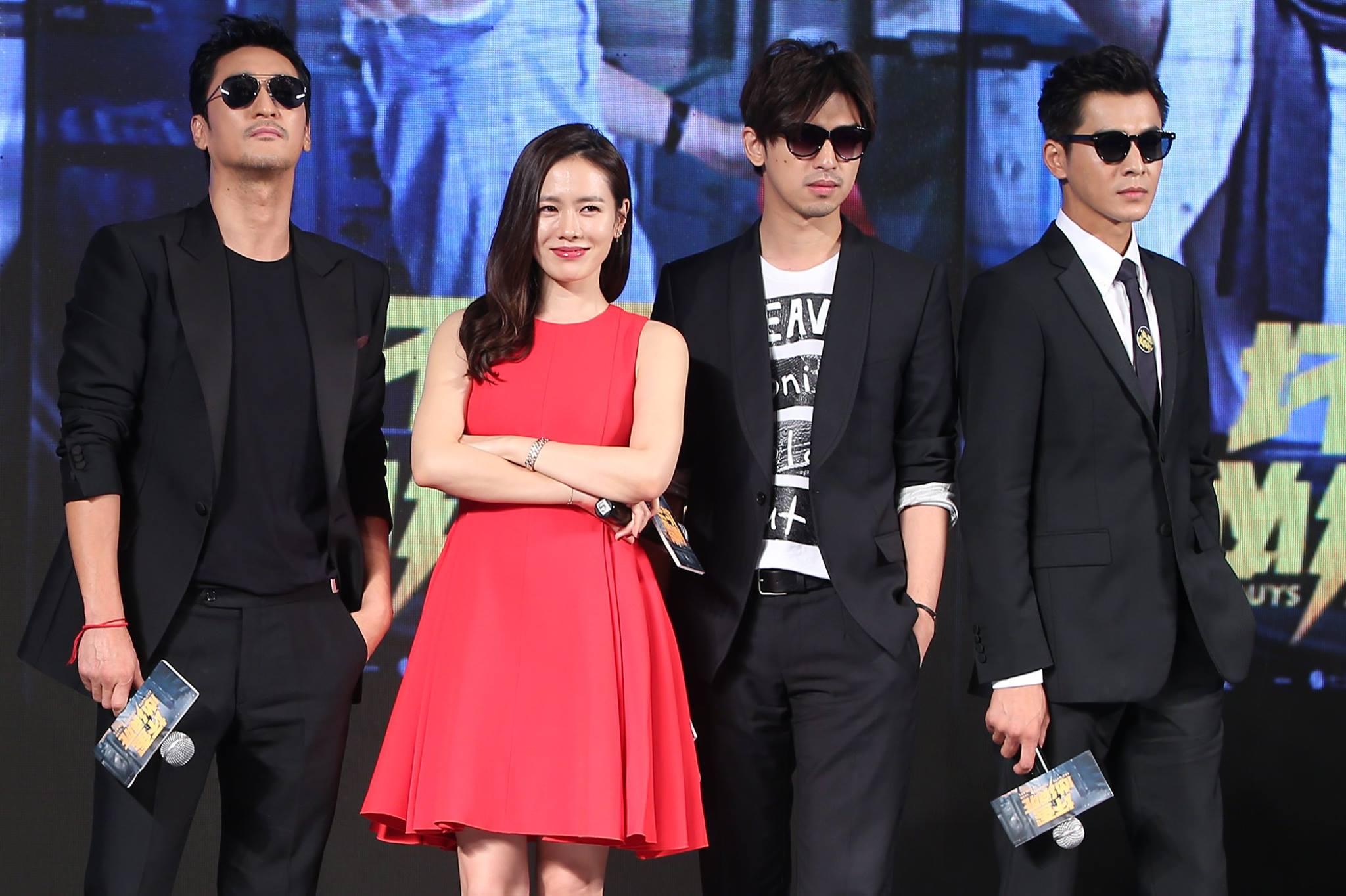 這部是陳柏霖和韓國公司簽約後首部的跨國合作片,主要在敘述男主角所帶領的壞蛋團,在濟州島遇到一位神秘的韓國女子,進而發展的浪漫驚險搞笑故事XD感覺就蠻好笑的,好想聽大仁哥講韓文(*゚∀゚*)電影預計12月在韓國上映呦