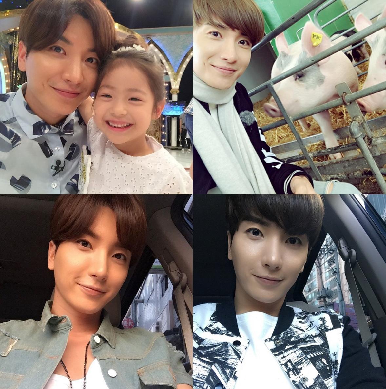Super Junior 的隊長利特也有超明顯的梨窩。 每次在 Instagram 看到他跟別人的合照,都會覺得他完全就是好爸爸啊!