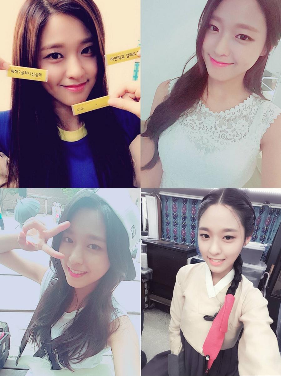 最近的大勢偶像雪炫 ♥ 也是有可愛酒窩的孩子喔!