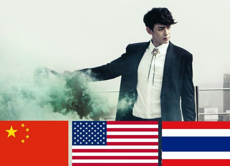 2PM Nichkhun 美籍泰中混血