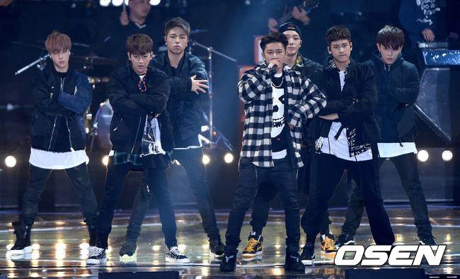 剛奪下2015年Melon Music Awards的最佳男子新人獎,他們是YG今年力捧的新人團體iKON
