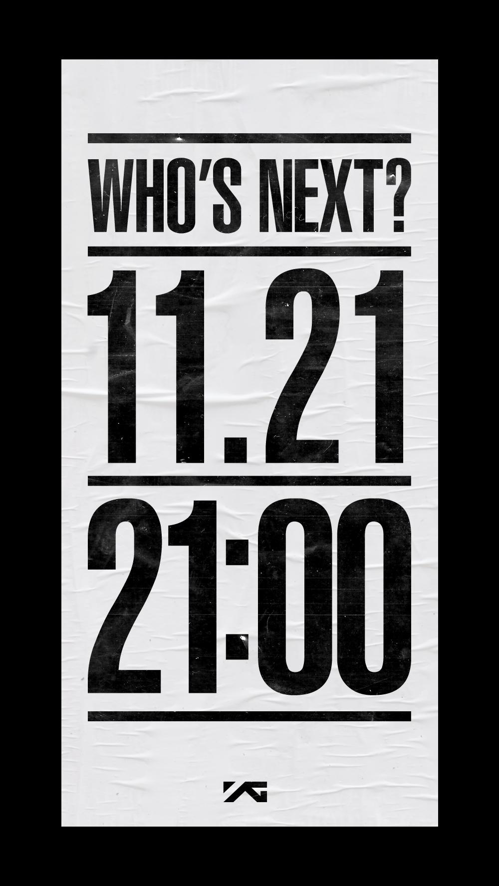 就在不久前,YG的網站上出現了這個預告!時間選在21日,公布日期是晚上9點(21點)!這麼敏感的數字,大家就在猜,該不會是2NE1的回歸吧?