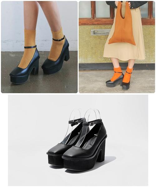 總結下來,擁有綁帶、鞋背帶設計,而讓腿看起來更纖細、筆直的鞋款,首推瑪莉珍鞋!那麼久的時尚歷史中始終沒有退位,一定有它魔性般存在的價值!