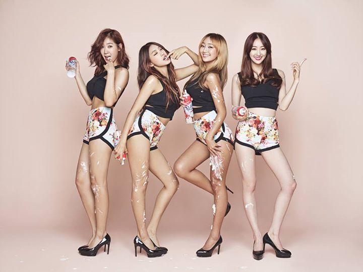並列TOP 9 Sistar(17票)