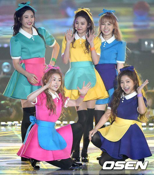 TOP2 Red Velvet(51票)